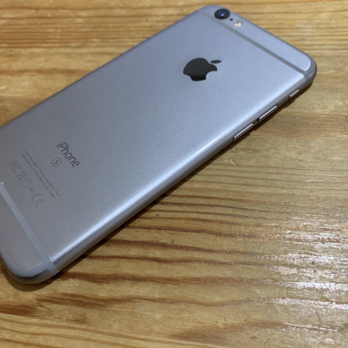 国内版SIMフリー!Apple iPhone6s 128GB 格安SIM スペースグレイ 送料無料 A1688_画像5