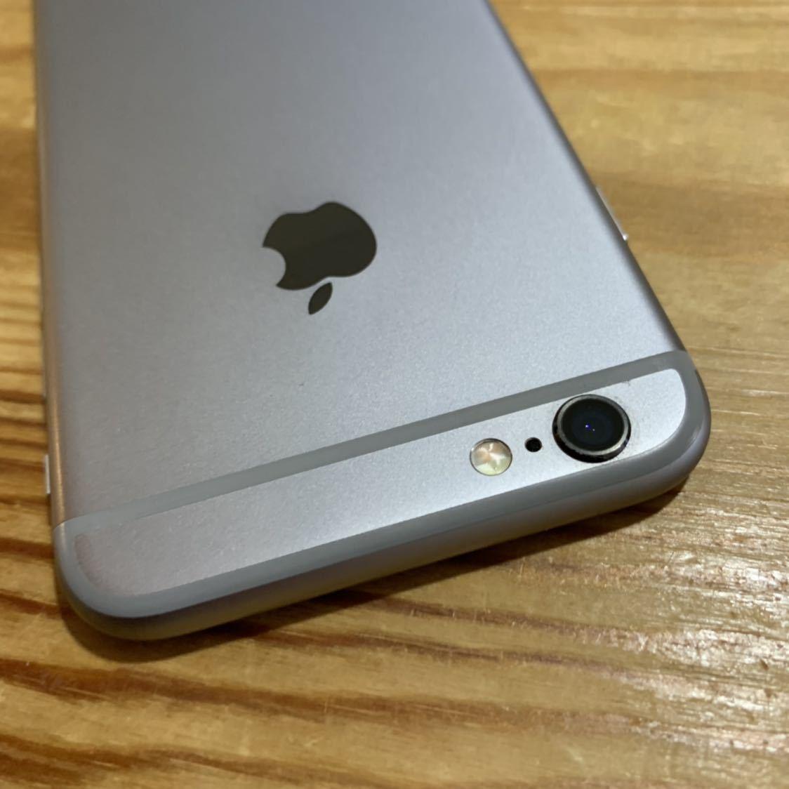国内版SIMフリー!Apple iPhone6s 128GB 格安SIM スペースグレイ 送料無料 A1688_画像6