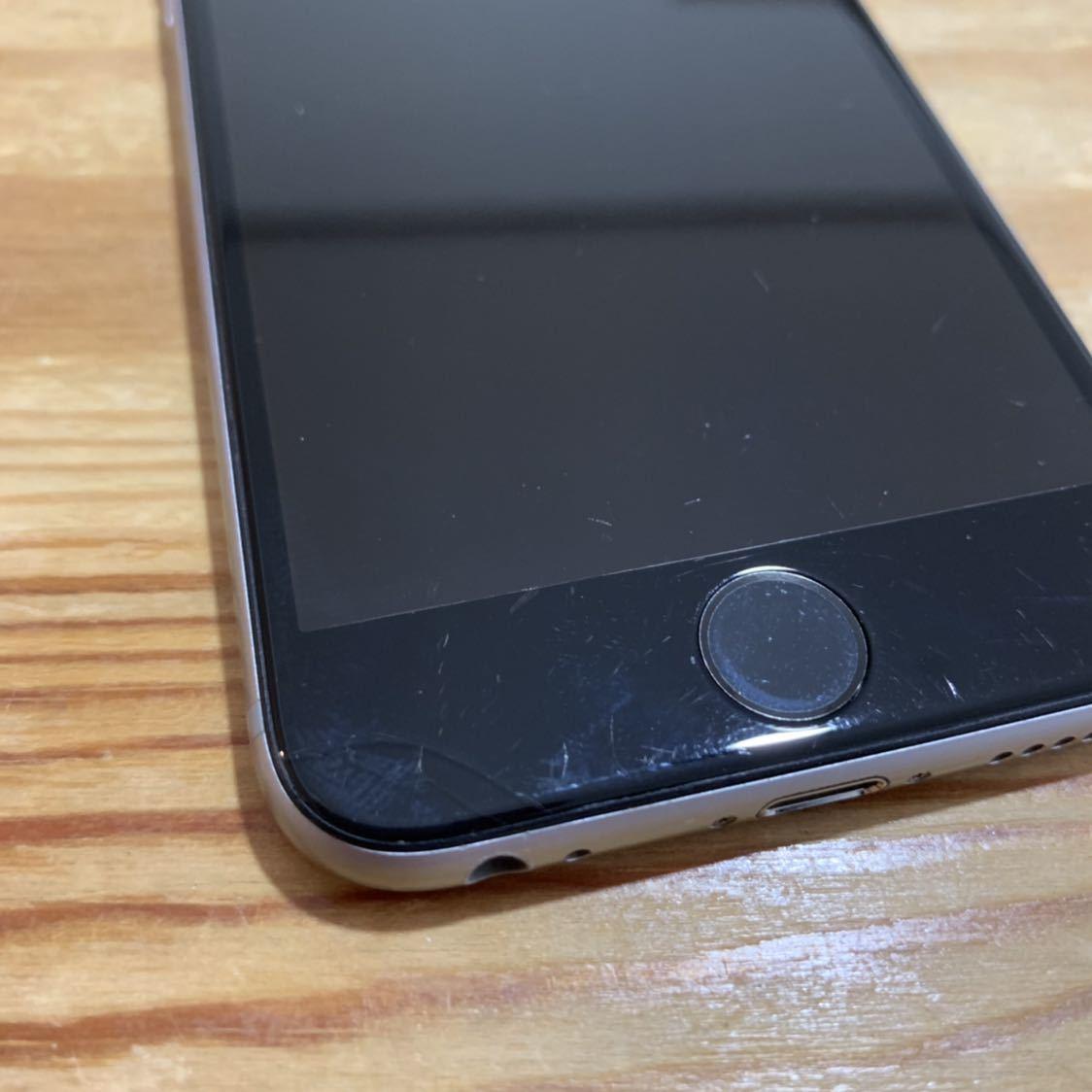 国内版SIMフリー!Apple iPhone6s 128GB 格安SIM スペースグレイ 送料無料 A1688_画像2