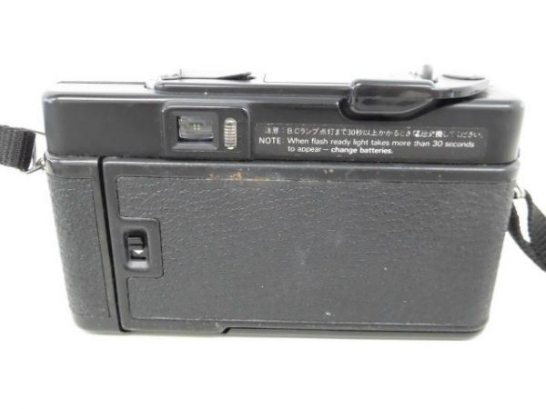 yo312☆ Konica コニカ / C35 AF2 AUTO FOCUS/A4 ビッグミニ/ペンタックス optio M60 カメラ3点まとめ売り_画像3