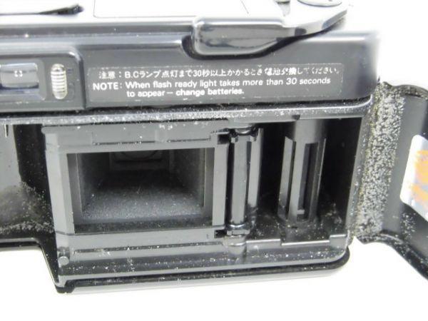 yo312☆ Konica コニカ / C35 AF2 AUTO FOCUS/A4 ビッグミニ/ペンタックス optio M60 カメラ3点まとめ売り_画像5