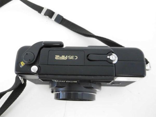 yo312☆ Konica コニカ / C35 AF2 AUTO FOCUS/A4 ビッグミニ/ペンタックス optio M60 カメラ3点まとめ売り_画像6