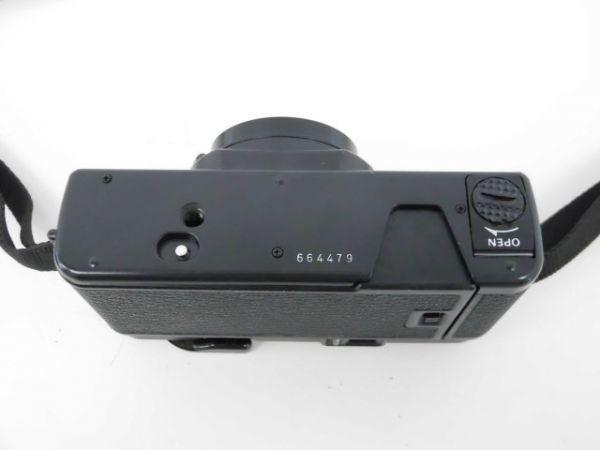 yo312☆ Konica コニカ / C35 AF2 AUTO FOCUS/A4 ビッグミニ/ペンタックス optio M60 カメラ3点まとめ売り_画像7