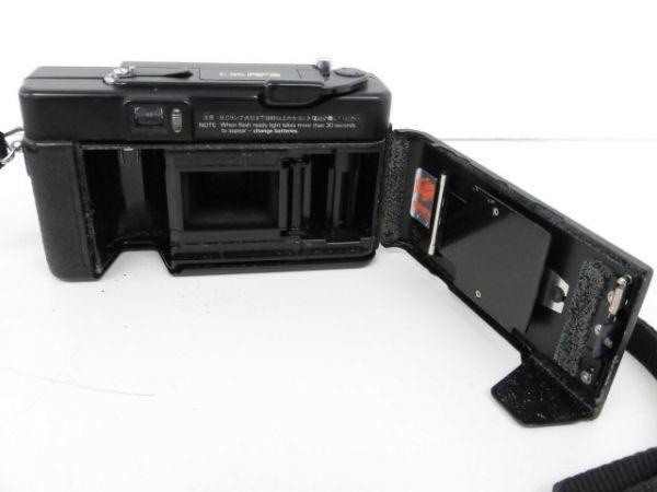 yo312☆ Konica コニカ / C35 AF2 AUTO FOCUS/A4 ビッグミニ/ペンタックス optio M60 カメラ3点まとめ売り_画像4
