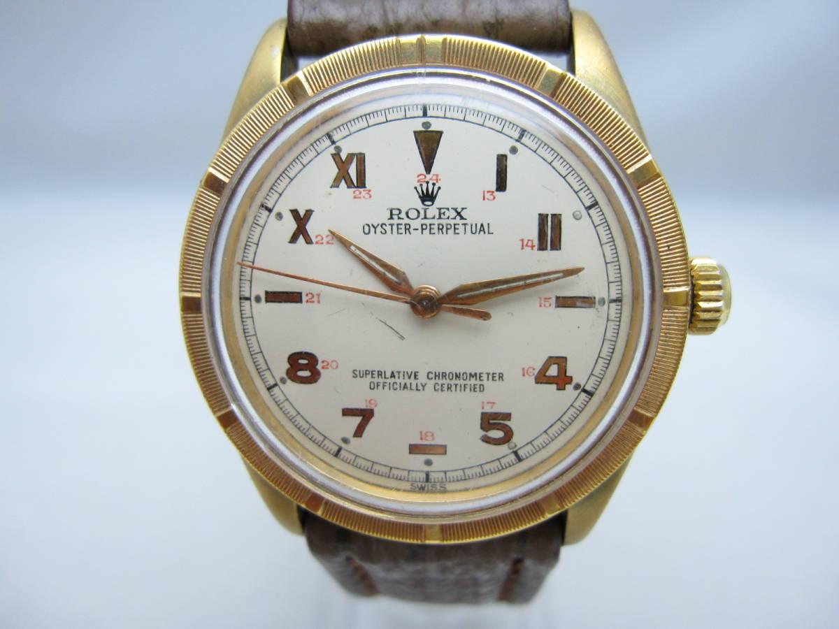 ~希少~【ROLEX】ロレックス オイスター パーペチュアル 1560 腕時計 自動巻 オートマ アンティーク ビンテージ 機械式 古い ジャンク品