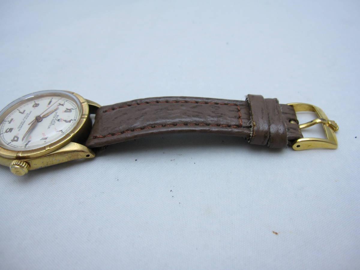 ~希少~【ROLEX】ロレックス オイスター パーペチュアル 1560 腕時計 自動巻 オートマ アンティーク ビンテージ 機械式 古い ジャンク品 _画像4