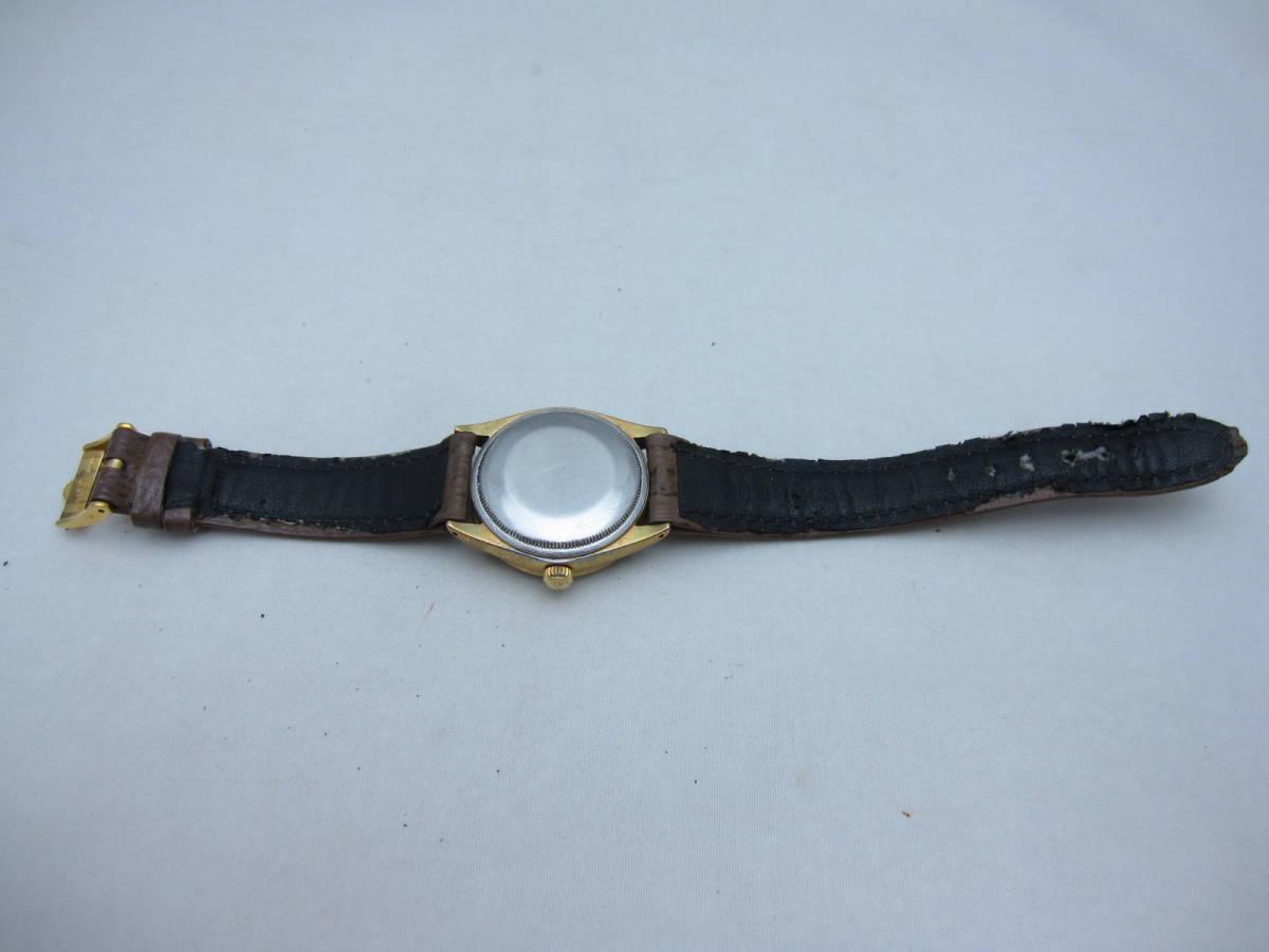 ~希少~【ROLEX】ロレックス オイスター パーペチュアル 1560 腕時計 自動巻 オートマ アンティーク ビンテージ 機械式 古い ジャンク品 _画像5