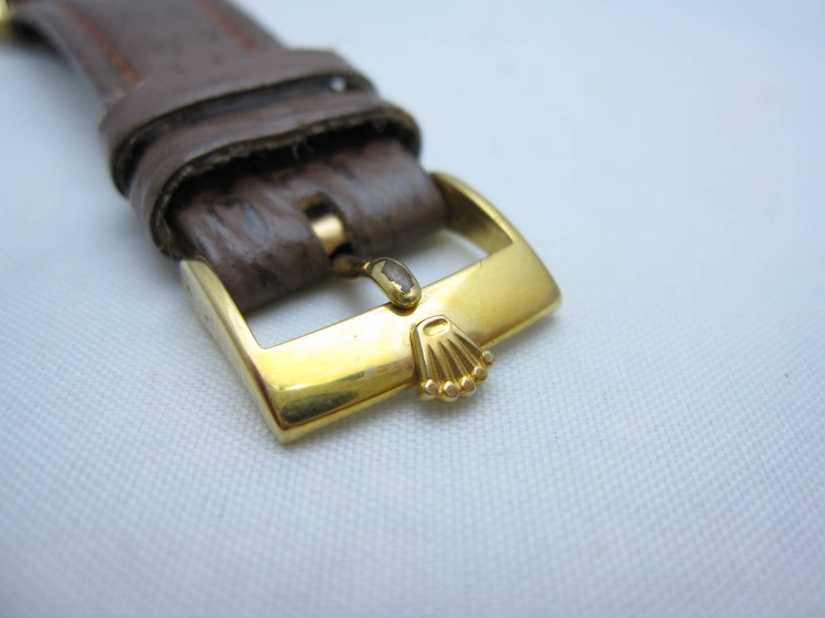 ~希少~【ROLEX】ロレックス オイスター パーペチュアル 1560 腕時計 自動巻 オートマ アンティーク ビンテージ 機械式 古い ジャンク品 _画像6