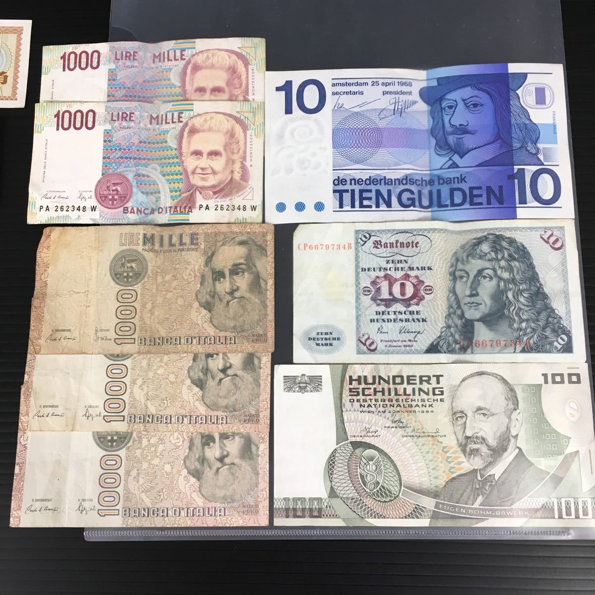 【外国 紙幣 コイン まとめて】 中国 アメリカ イタリア オランダ メキシコ等 #0068/001_画像3