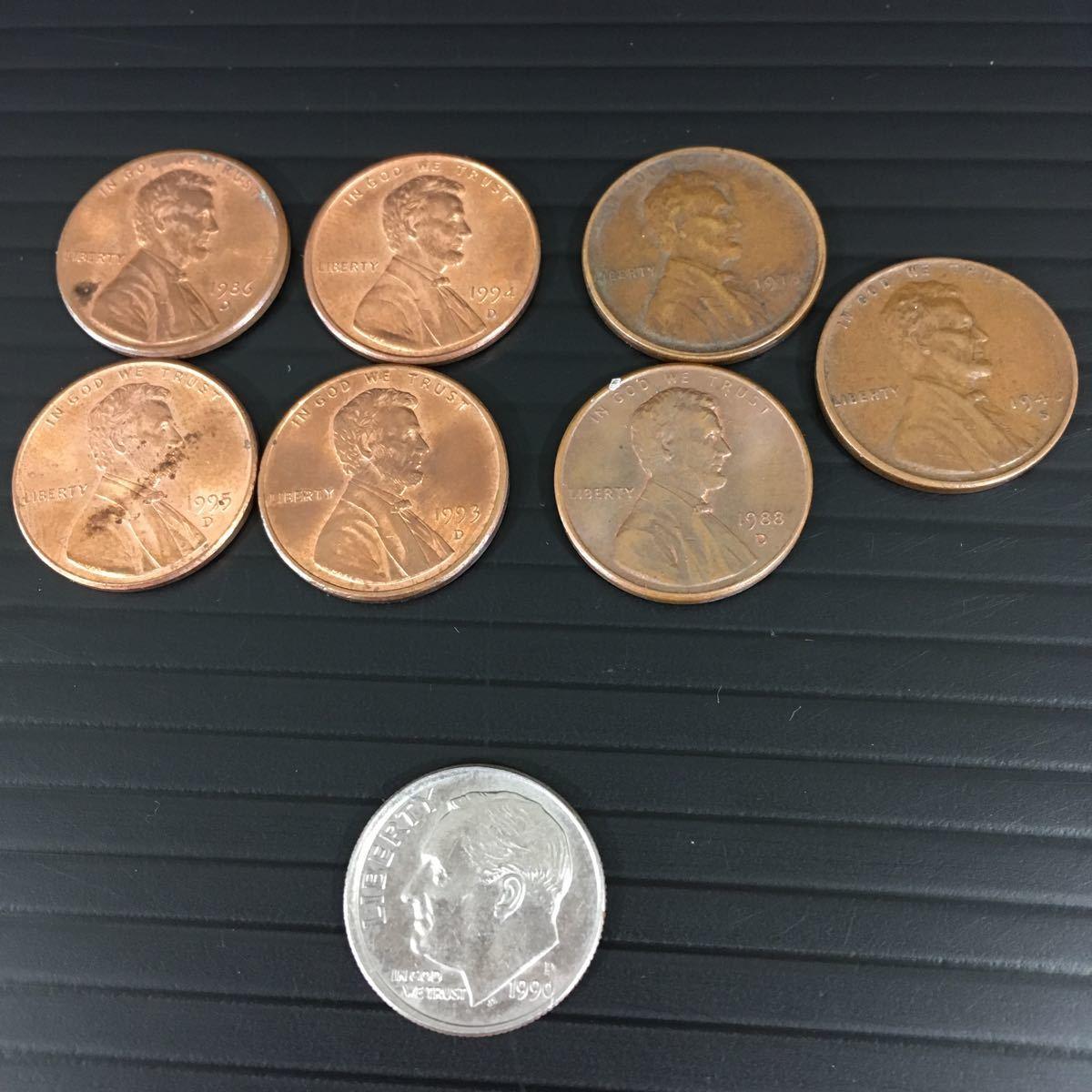 【外国 紙幣 コイン まとめて】 中国 アメリカ イタリア オランダ メキシコ等 #0068/001_画像6