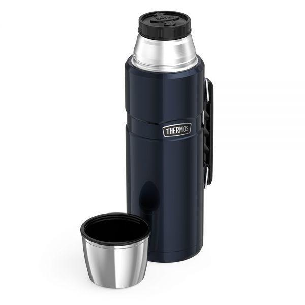 ★新品未使用★Thermos サーモス ステンレスキング 2L 大容量 保温・保冷 飲料ボトル 「ミッドナイト・ブルー」_画像6