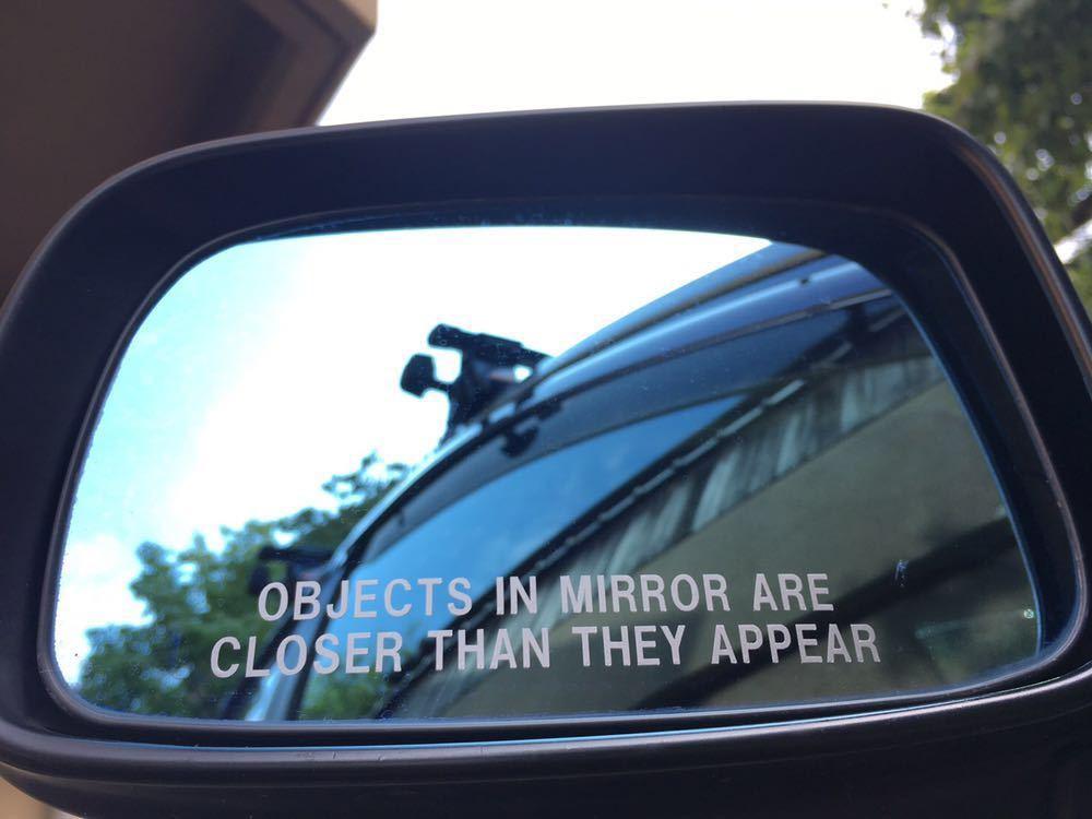 送料無料 ドアミラー ミリタリー usdm ステッカー ヘラフラ シルバー 2枚組 スタンス vip ユーロ 世田谷ベース アメ車 ステンシル トラック_画像2