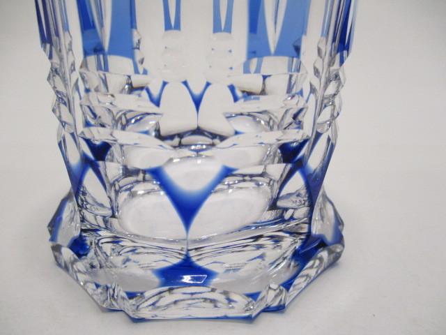 カガミクリスタル 切子 ロックグラス 1個 グラス 未使用_画像3
