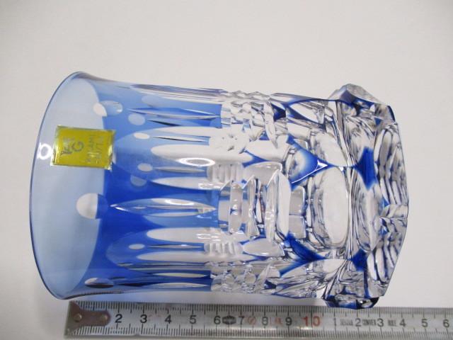 カガミクリスタル 切子 ロックグラス 1個 グラス 未使用_画像4