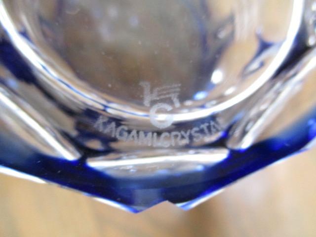 カガミクリスタル 切子 ロックグラス 1個 グラス 未使用_画像5