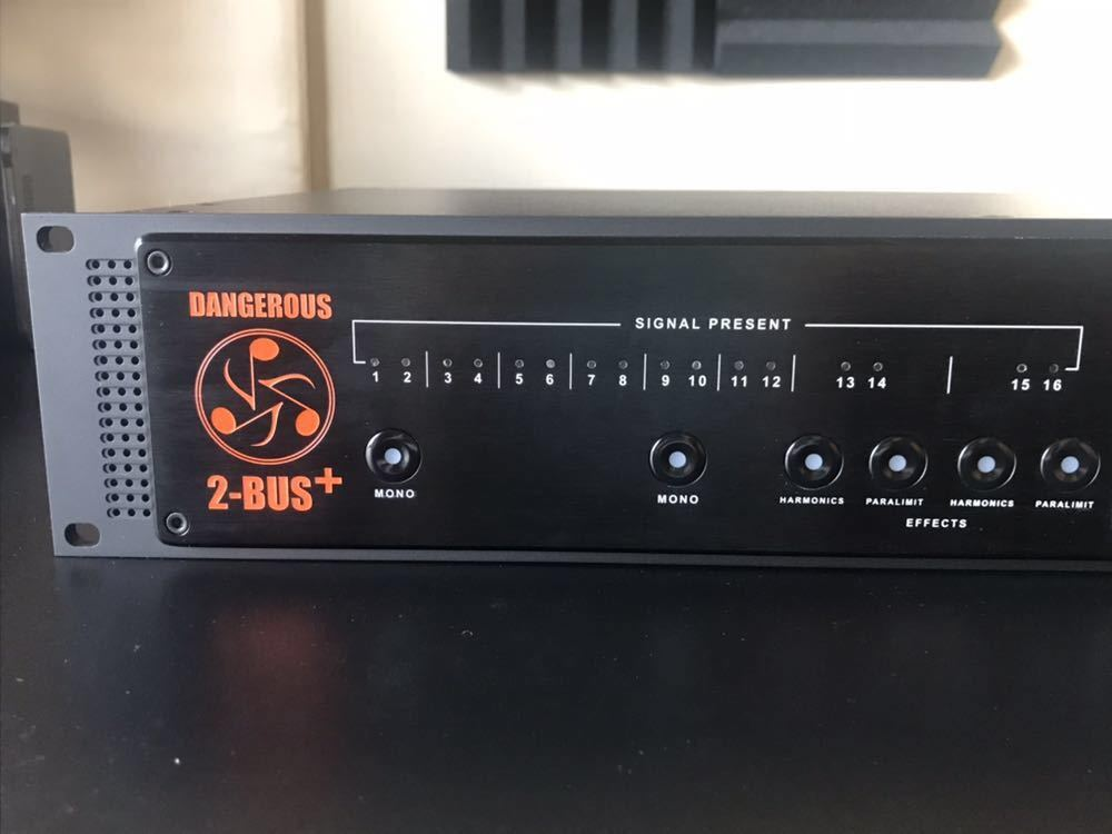 DANGEROUS MUSIC 2-BUS+ サミングミキサー 送料無料_画像2