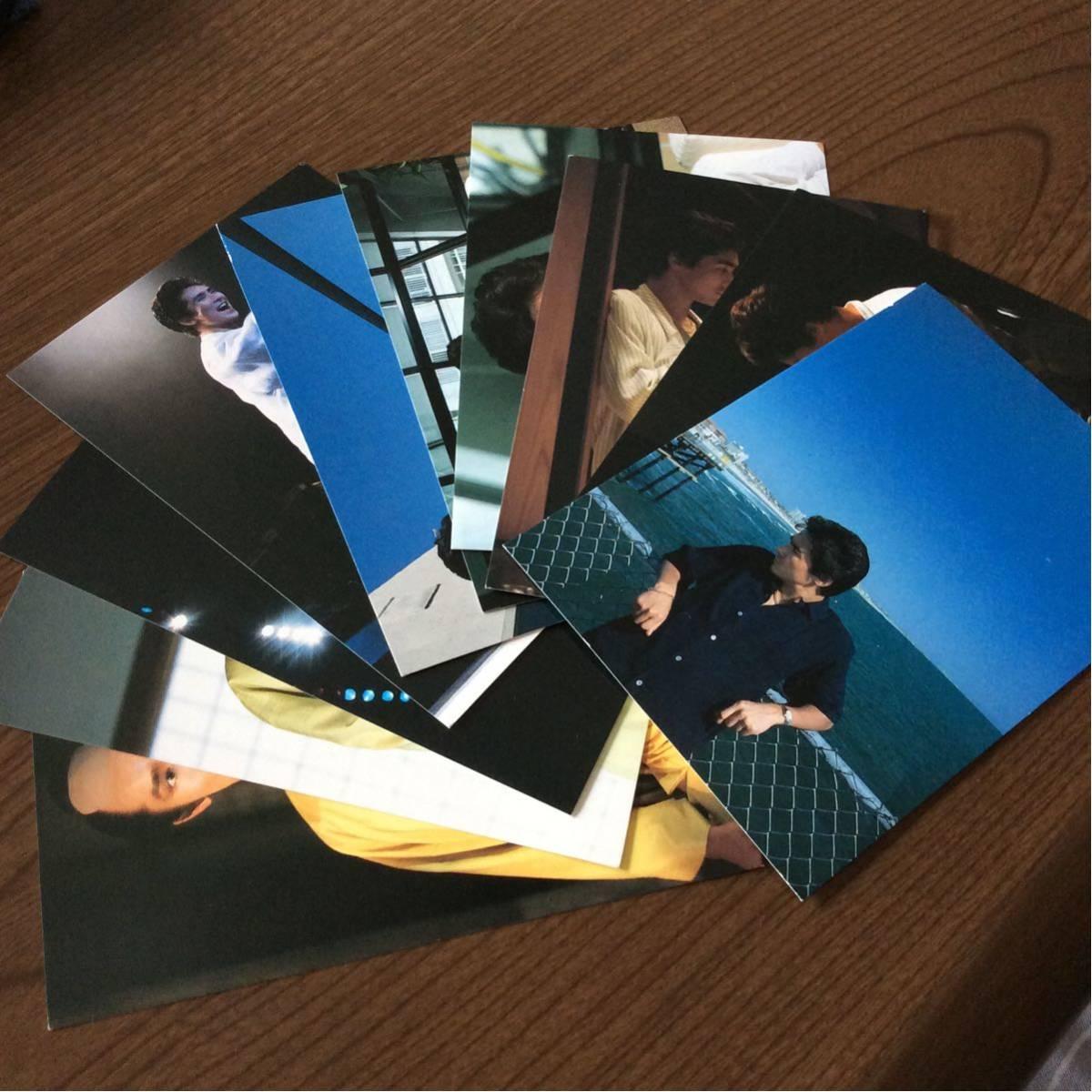 送料無料 郷ひろみ 写真 ポストカード POST CARD 10枚 Hiromi GO