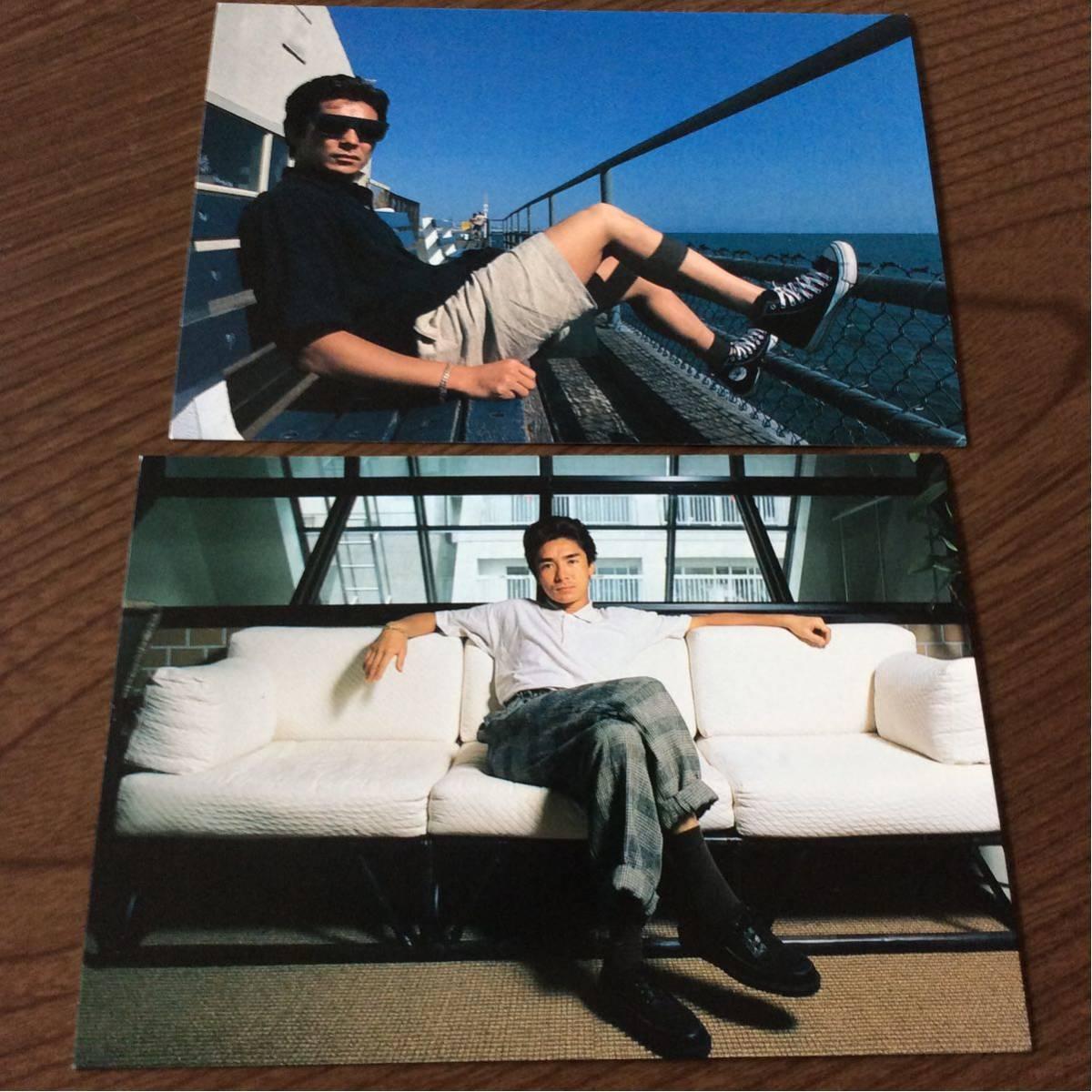 送料無料 郷ひろみ 写真 ポストカード POST CARD 10枚 Hiromi GO_画像8