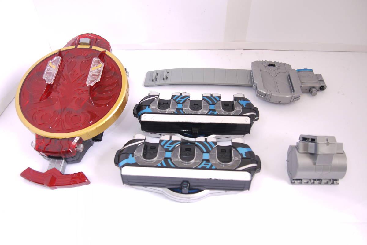 仮面ライダーオーズ DXオーズドライバー タジャスピナー ベルト右(R) コインケース バックル