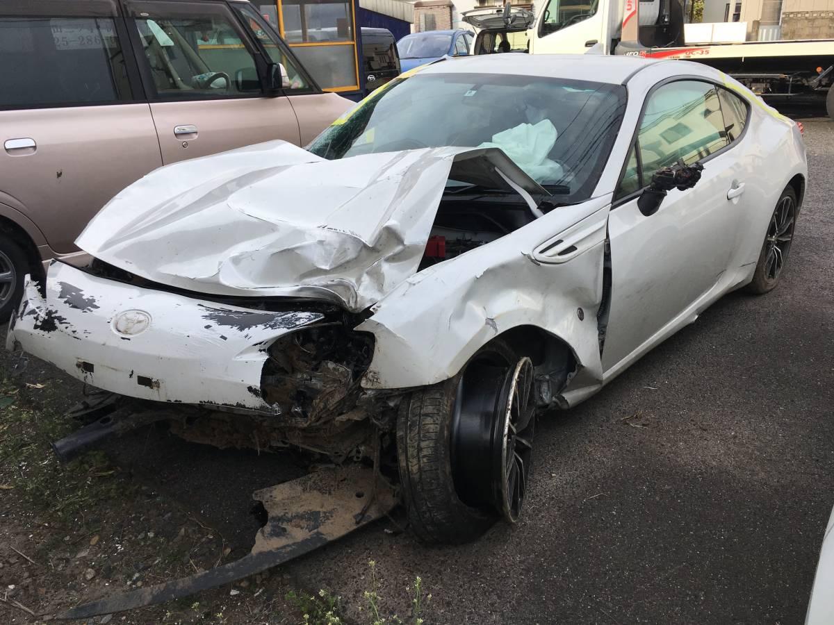 トヨタ FT86 GTリミテッド 事故車現状_画像4