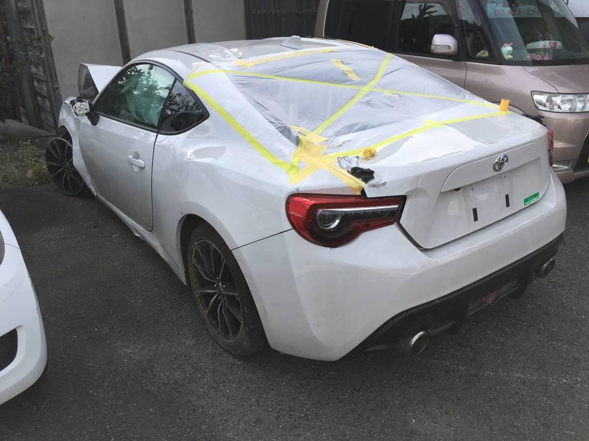 トヨタ FT86 GTリミテッド 事故車現状