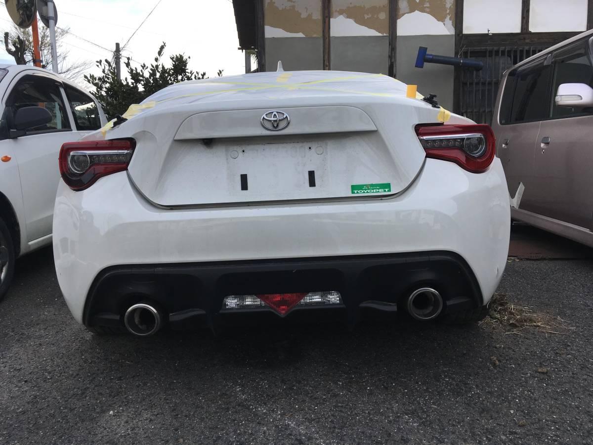 トヨタ FT86 GTリミテッド 事故車現状_画像3