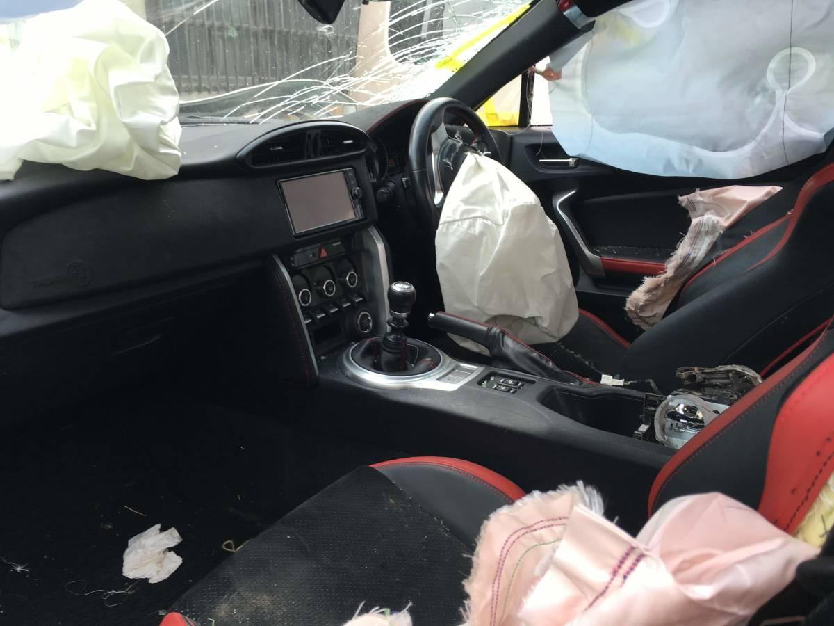トヨタ FT86 GTリミテッド 事故車現状_画像8