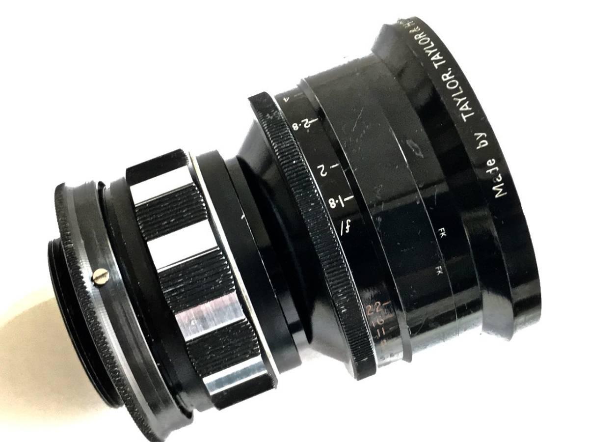 美品 希少 シネレンズTAYLOR-HOBSON COOKE SPEED PANCHRO SER II 25mm f/1.8 (T2.2) L39マウント改造 実用