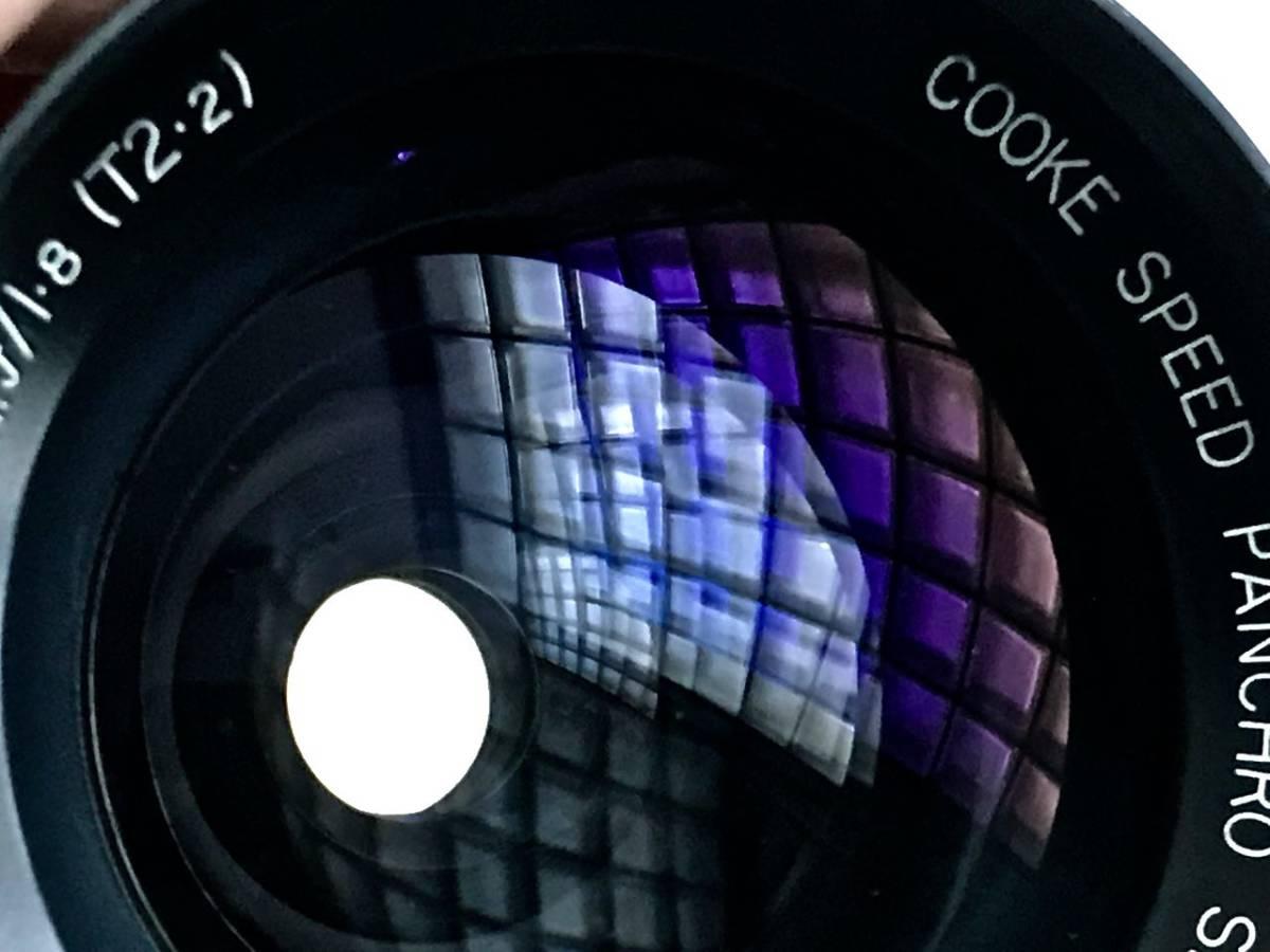 美品 希少 シネレンズTAYLOR-HOBSON COOKE SPEED PANCHRO SER II 25mm f/1.8 (T2.2) L39マウント改造 実用_画像4