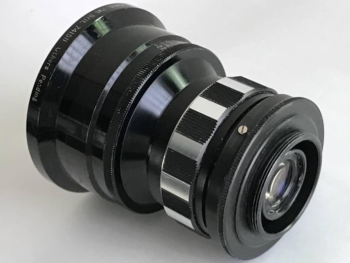 美品 希少 シネレンズTAYLOR-HOBSON COOKE SPEED PANCHRO SER II 25mm f/1.8 (T2.2) L39マウント改造 実用_画像3