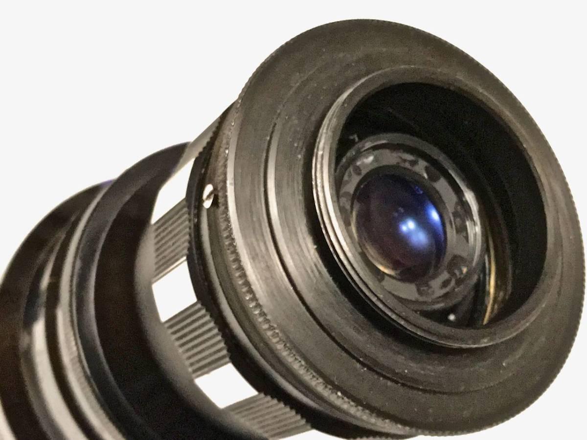 美品 希少 シネレンズTAYLOR-HOBSON COOKE SPEED PANCHRO SER II 25mm f/1.8 (T2.2) L39マウント改造 実用_画像5