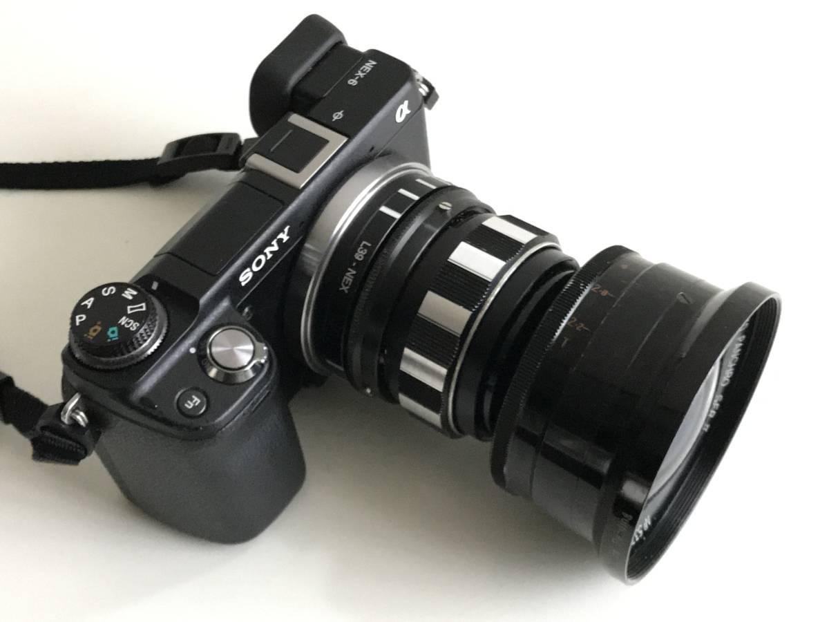 美品 希少 シネレンズTAYLOR-HOBSON COOKE SPEED PANCHRO SER II 25mm f/1.8 (T2.2) L39マウント改造 実用_画像7