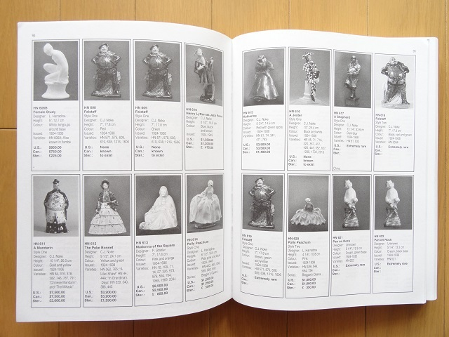 洋書◆ロイヤルドルトン作品写真集 5th 本 工芸品 陶磁器 人形 Royal Doulton_画像3