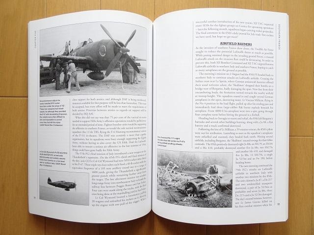 洋書◆P-47 サンダーボールト写真集 本 飛行機 軍用機 戦闘機 アメリカ 空軍_画像3