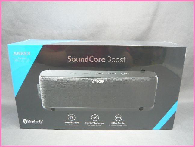 【未開封】ANKER SoundCore Boost A3145011 Bluetooth スピーカー ブラック アンカー