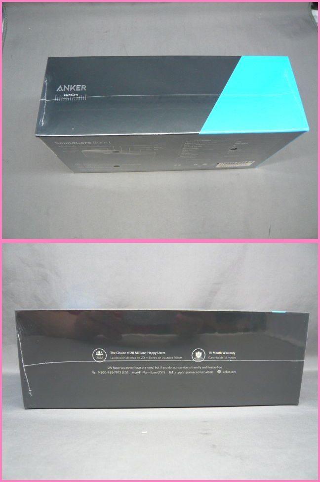 【未開封】ANKER SoundCore Boost A3145011 Bluetooth スピーカー ブラック アンカー_画像4