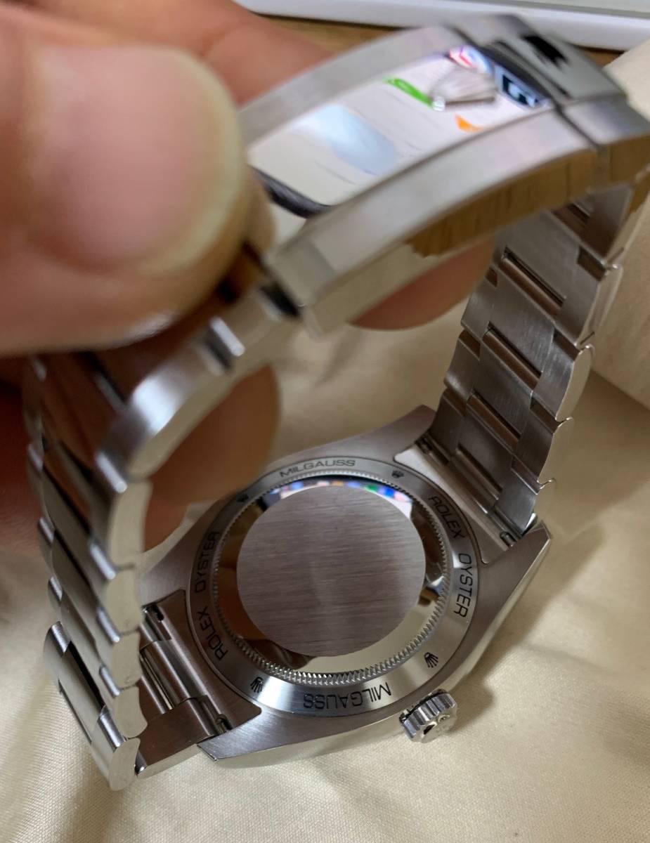 ロレックス ミルガウス Ref.116400GV Zブルー(ROLEX Milgauss)美品_画像2