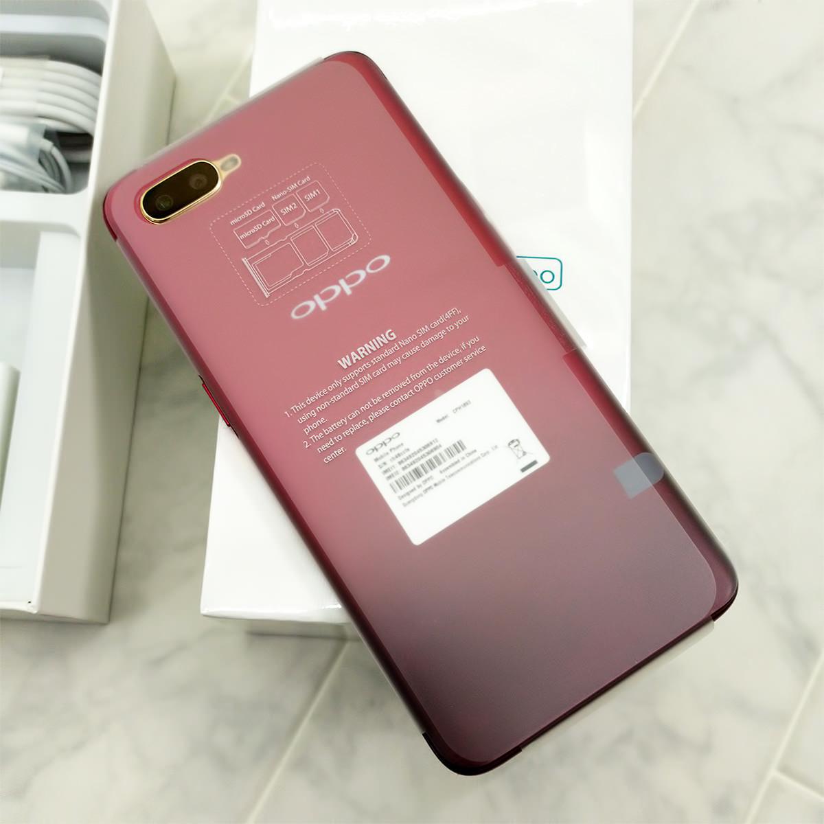 新品未使用 SIMフリー Oppo R17 Neo 128GB OPU31 OPU31SLU CPH1893 レッド red ○判定 UQモバイル UQmobile