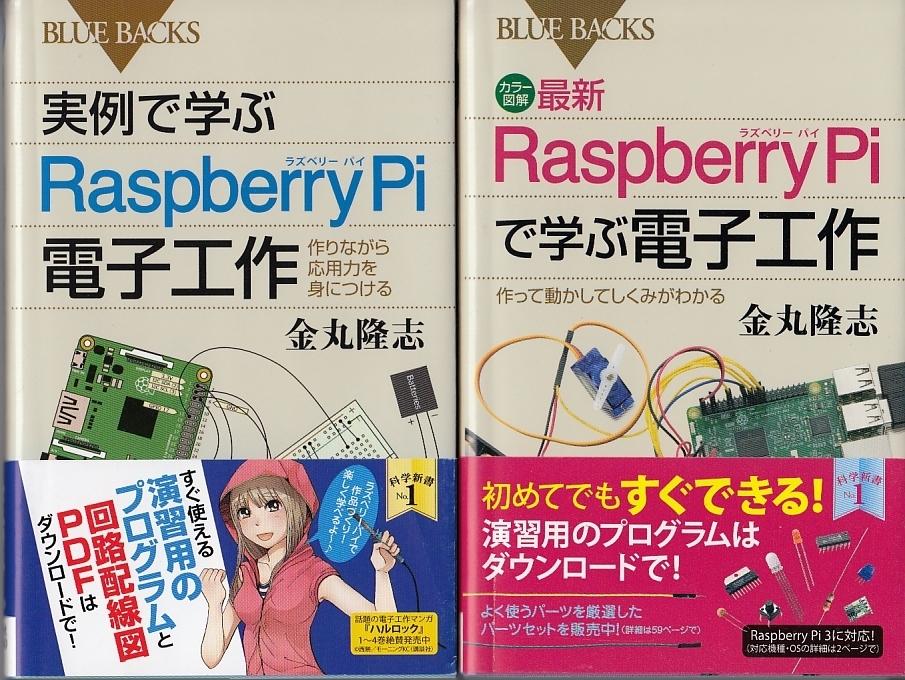 実例で学ぶRaspberryPi電子工作/RaspberryPiで学ぶ電子工作 2冊セット