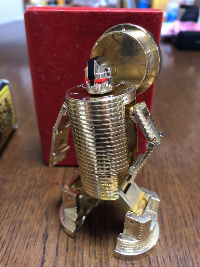 送料無料!ポピー 超合金 黄金戦士Gライタン ゴールドライタン GB-40 クリスタルカット タイムライタン タツノコプロ_画像2