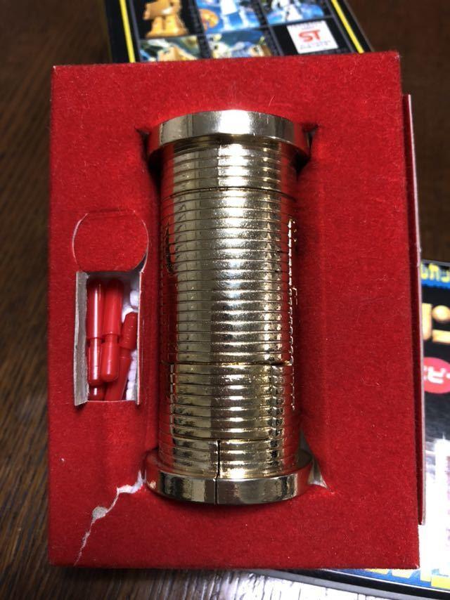 送料無料!ポピー 超合金 黄金戦士Gライタン ゴールドライタン GB-40 クリスタルカット タイムライタン タツノコプロ_画像9
