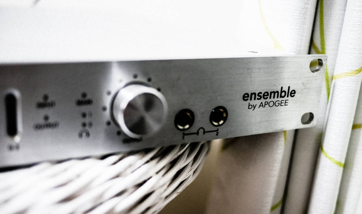 Apogee FireWire オーディオインターフェイス ENSEMBL 定価20万 現状出品 IF アポジー_画像2