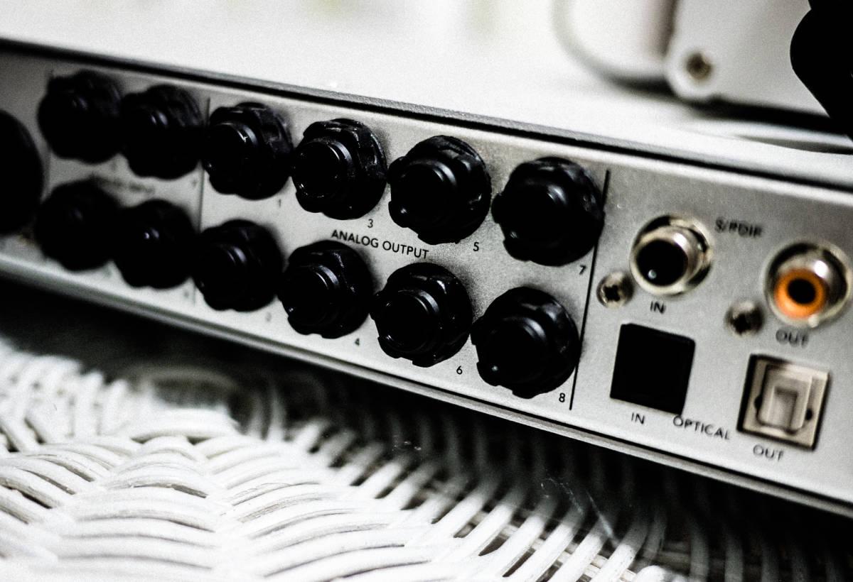 Apogee FireWire オーディオインターフェイス ENSEMBL 定価20万 現状出品 IF アポジー_画像5
