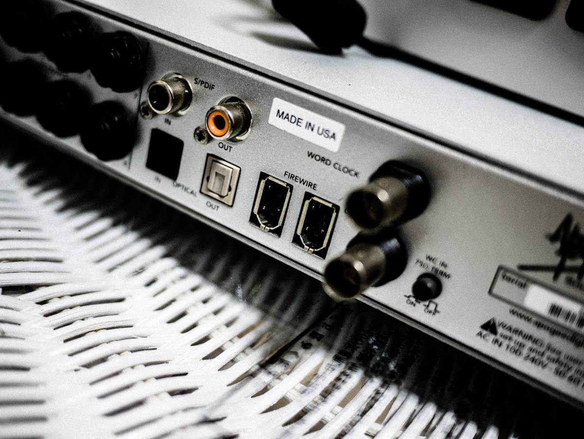Apogee FireWire オーディオインターフェイス ENSEMBL 定価20万 現状出品 IF アポジー_画像4