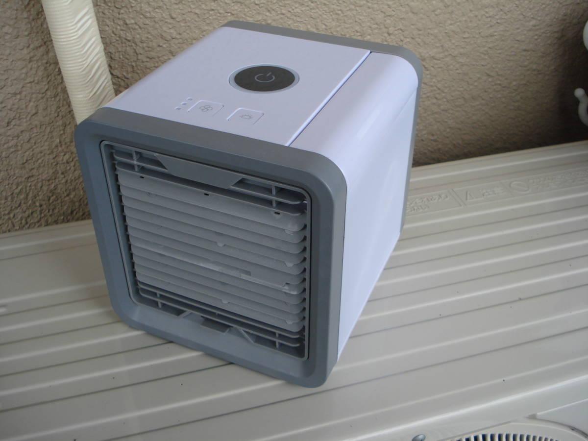 AICTIC AIR 冷風扇 卓上 USB ここひえ風 安価スタート_画像2