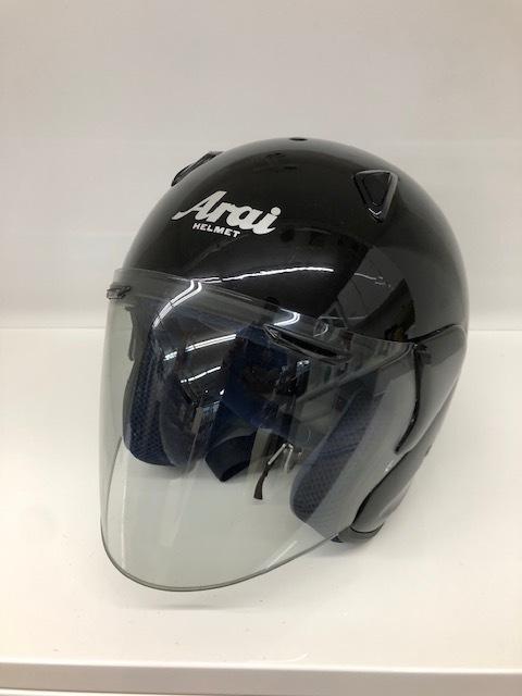 Arai アライ SZ SNELL ジェットヘルメット Lサイズ ブラック 中古品