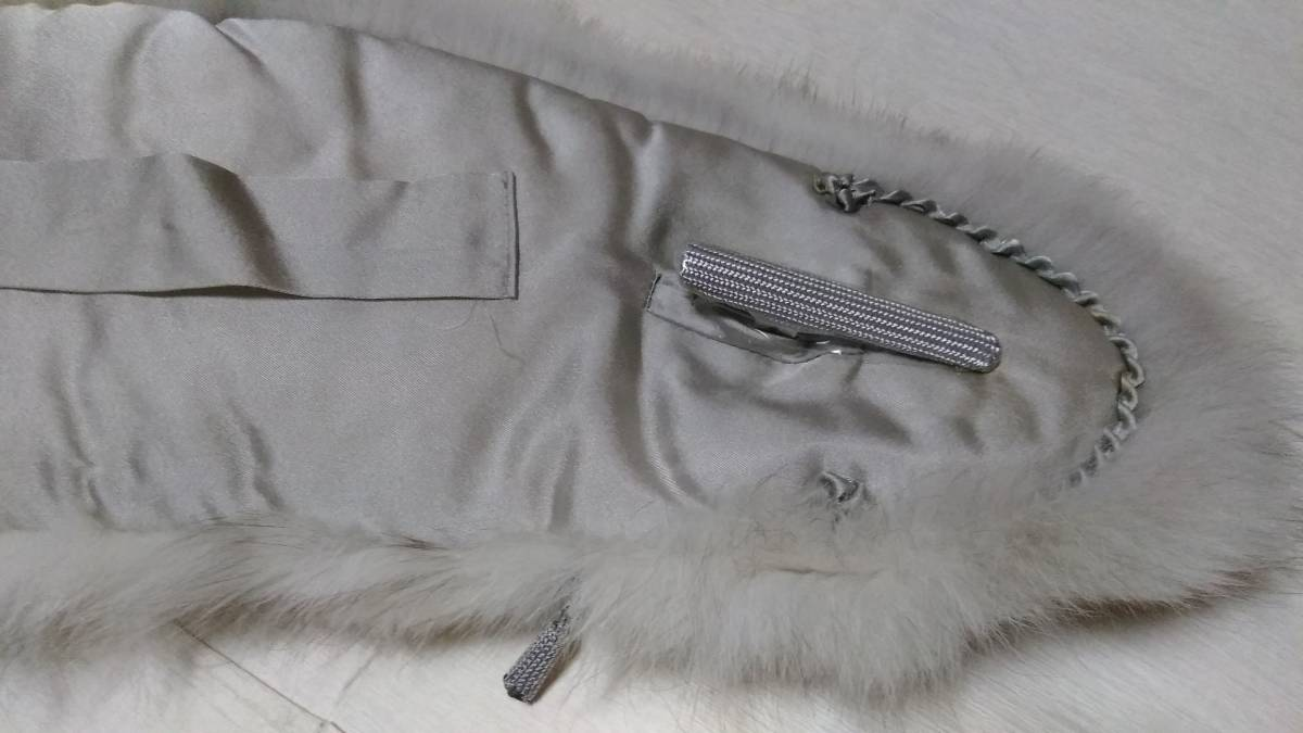サガ フォックス、ショール、毛皮、未使用、振袖に、成人式に、手触り良し_画像3