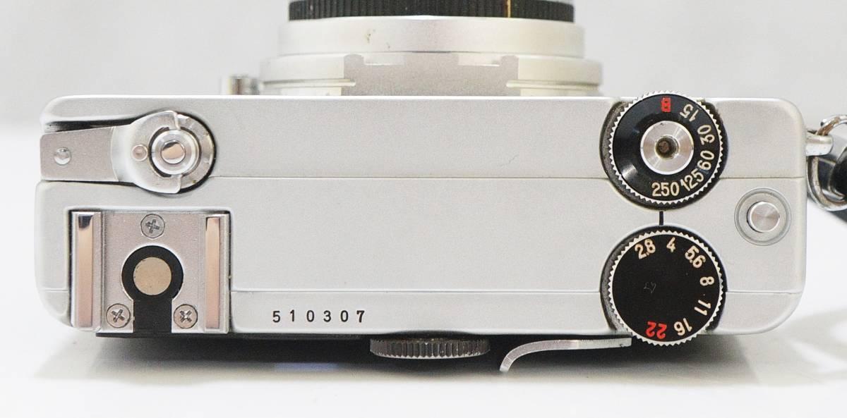 □ PETRI Color 35 ペトリ カラー35 コンパクト/フィルムカメラ Petri 1:2.8 f=40㎜ 動作未確認 訳あり 中古 現状品 ③_画像5