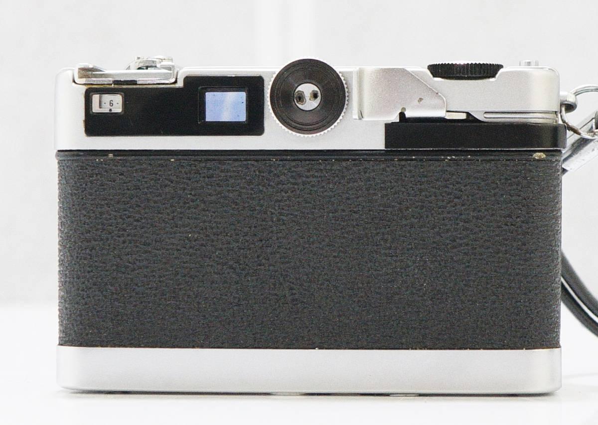 □ PETRI Color 35 ペトリ カラー35 コンパクト/フィルムカメラ Petri 1:2.8 f=40㎜ 動作未確認 訳あり 中古 現状品 ③_画像7