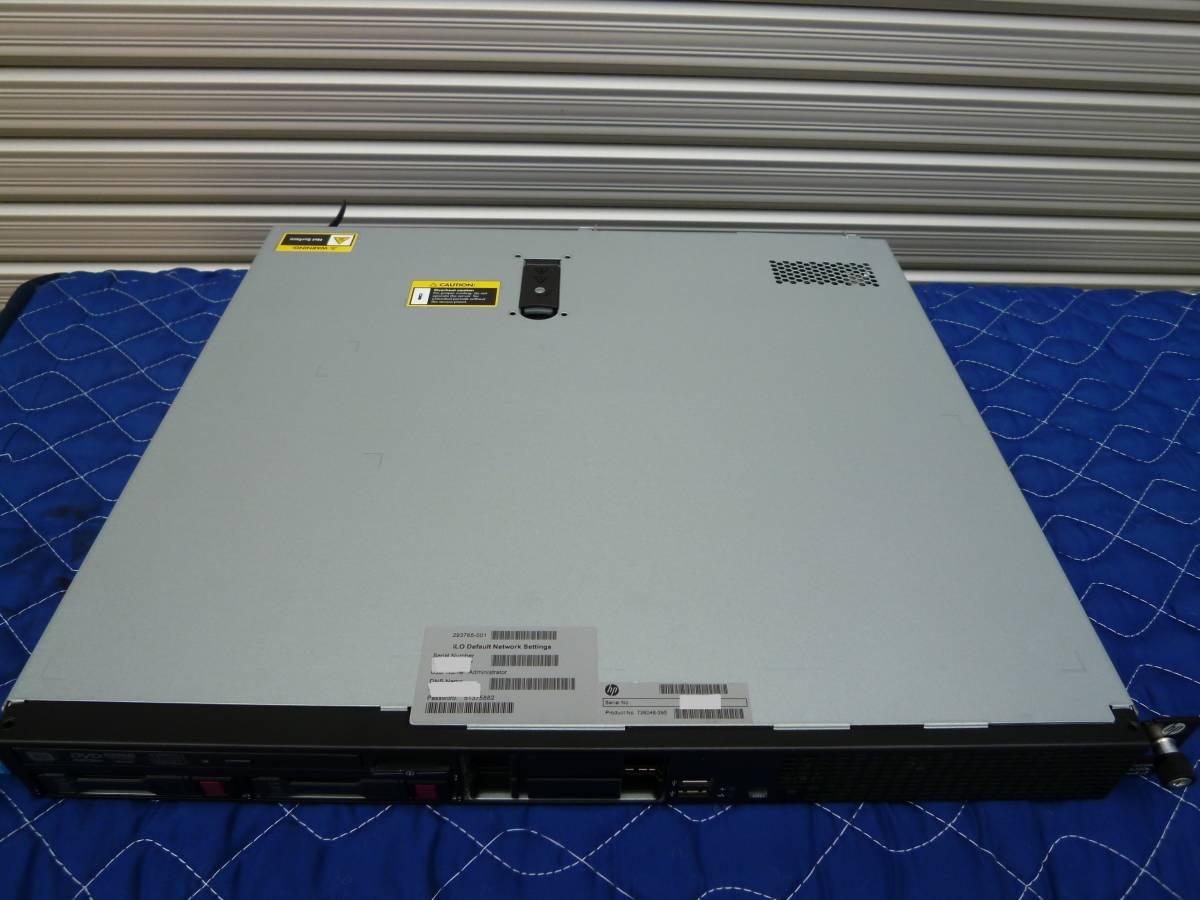 HP ProLiant DL320e Gen8 v2 Xeon E3-1240 v3(3.40GHz)/メモリ8GB/P222/HDD 1TB x2/OSなし_画像2